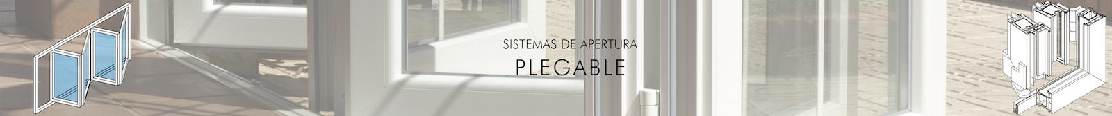 Sistemas de Apertura Plegable PVC