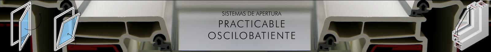 Ventanaas y cerramientos Practicables Oscilobatientes